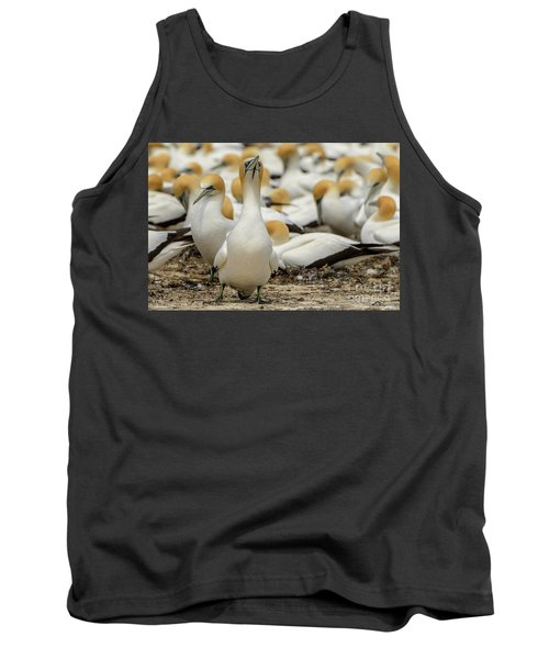 Tank Top featuring the photograph On Guard by Werner Padarin