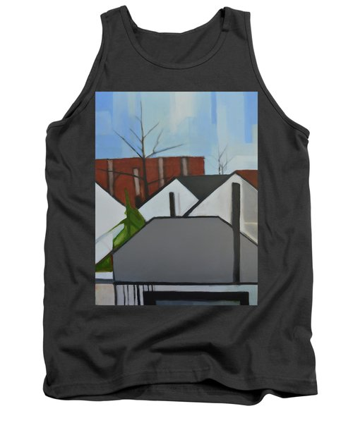 On Palisade Tank Top by Ron Erickson