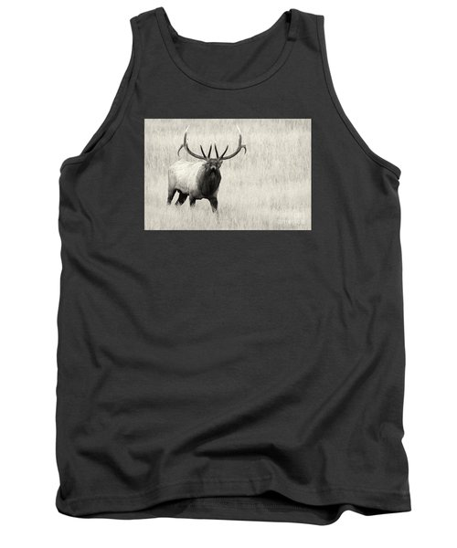 Tank Top featuring the photograph On The Fight by Aaron Whittemore