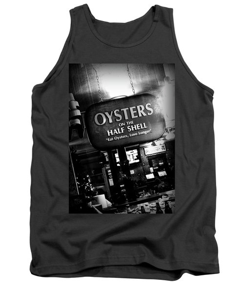 On The Half Shell - Bw Tank Top