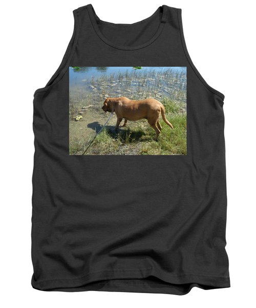 On The Hunt Tank Top by Val Oconnor