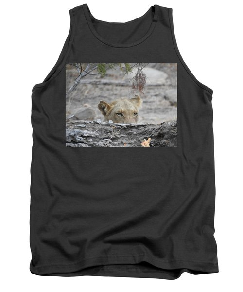 Tank Top featuring the photograph On The Lookout by Betty-Anne McDonald