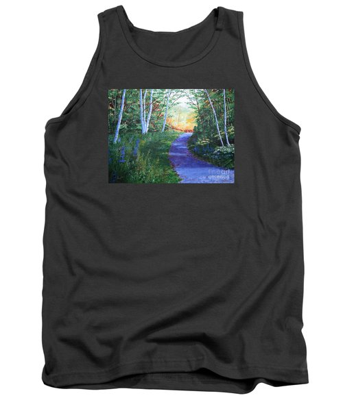 On The Path Tank Top