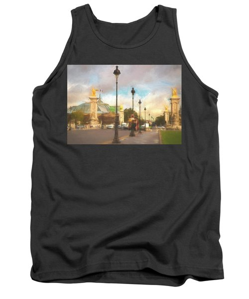 On The Pont Alexandre  Tank Top