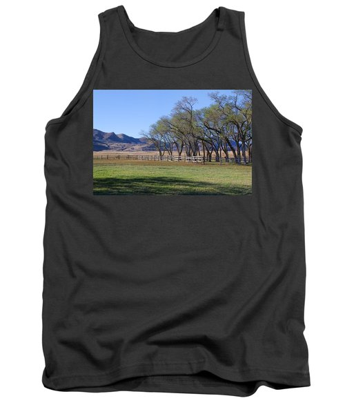 Tank Top featuring the photograph On The Ranch by Ely Arsha