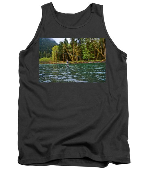 On The River Tank Top