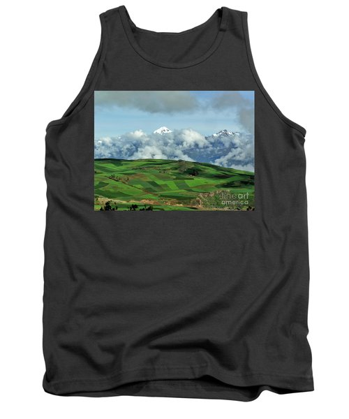 On The Road From Cusco To Urubamba Tank Top by Michele Penner