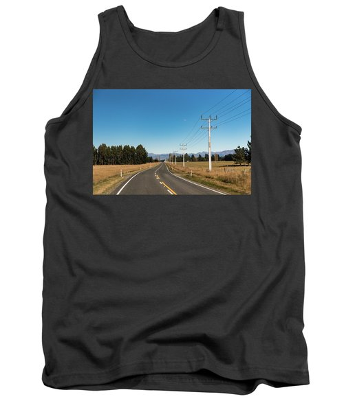 Tank Top featuring the photograph On The Road by Gary Eason