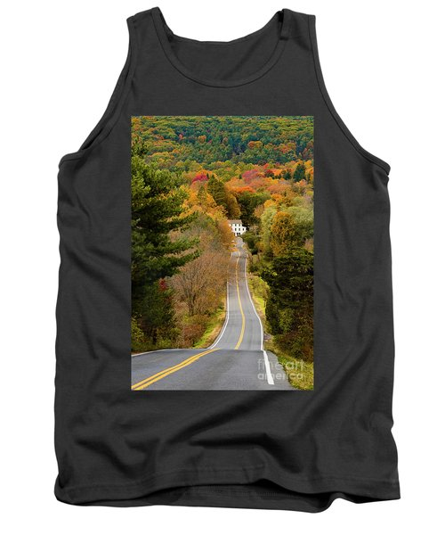 On The Road To New Paltz Tank Top