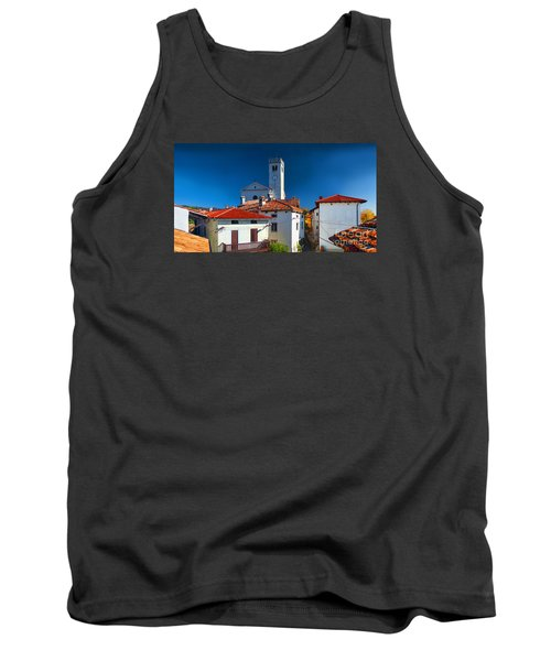 Tank Top featuring the photograph On The Tiles by Graham Hawcroft pixsellpix