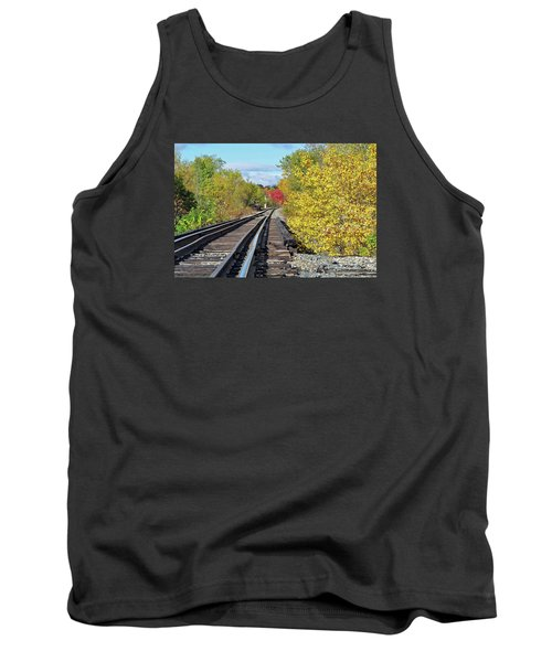On To Fall Tank Top by Glenn Gordon