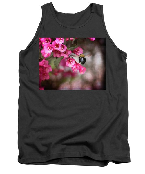 On Wine And Roses Weigela - 2 Tank Top by Debra Martz