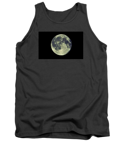 Tank Top featuring the photograph Once In A Blue Moon by Candice Trimble