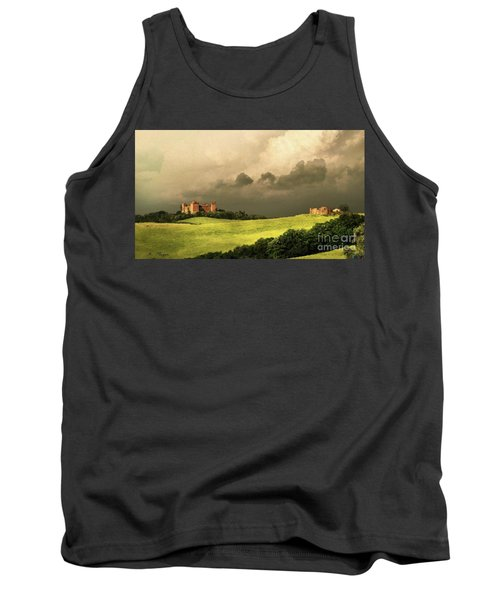 Tank Top featuring the mixed media Once Upon A Time In Tuscany by Rosario Piazza