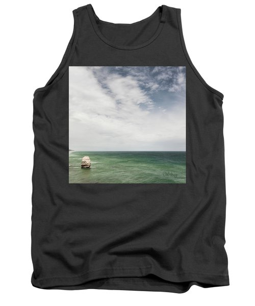 Tank Top featuring the photograph One Apostle by Joseph Westrupp