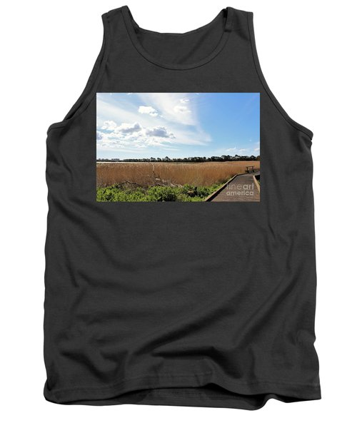 Tank Top featuring the photograph One Beautiful Day... by Katy Mei