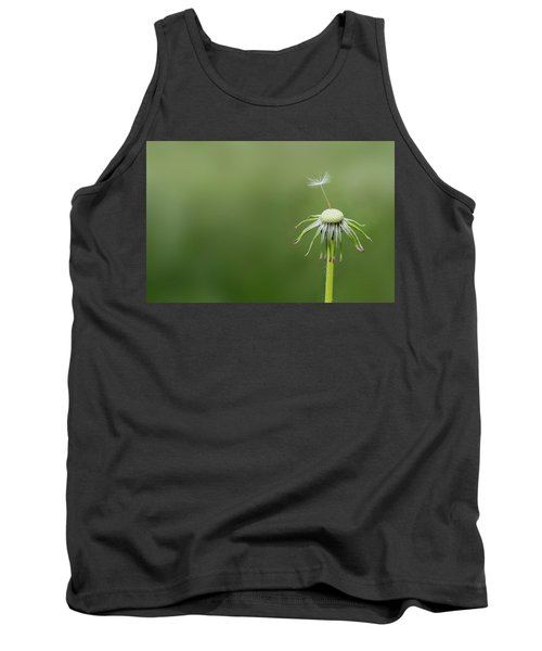 Tank Top featuring the photograph One Dandy by Bess Hamiti
