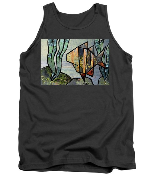One Fish Tank Top by Joan Ladendorf