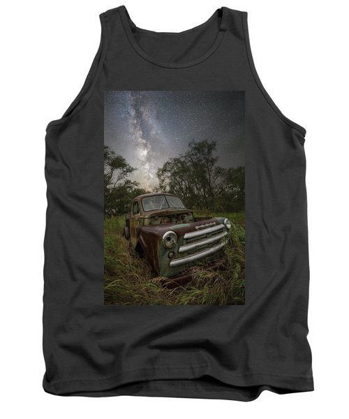 Tank Top featuring the photograph One Headlight  by Aaron J Groen
