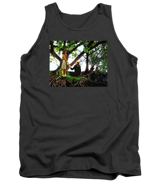 Tank Top featuring the photograph One Moment In Paradise by Timothy Bulone