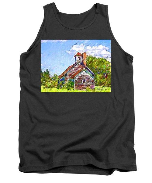 One Room Schoolhouse Tank Top
