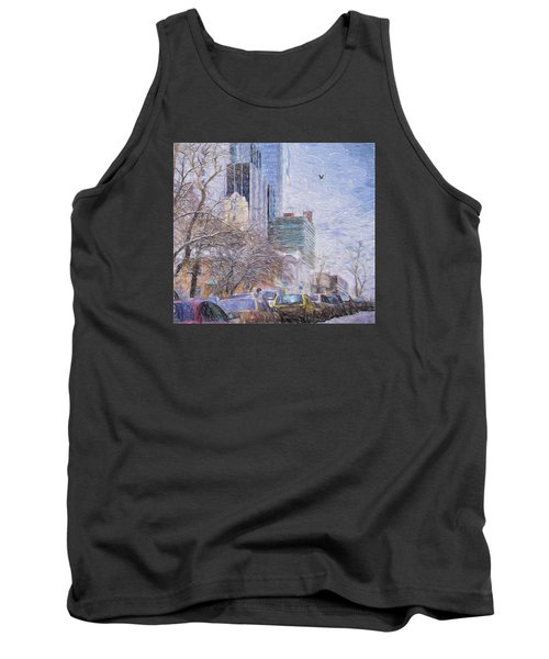 Tank Top featuring the photograph One Winter Day by Vladimir Kholostykh