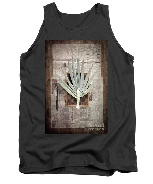 Tank Top featuring the photograph Onion by Linda Lees