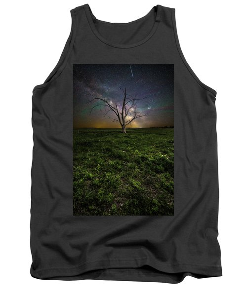 Tank Top featuring the photograph Only by Aaron J Groen