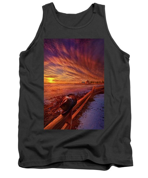 Tank Top featuring the photograph Only This Moment In Between Before And After by Phil Koch