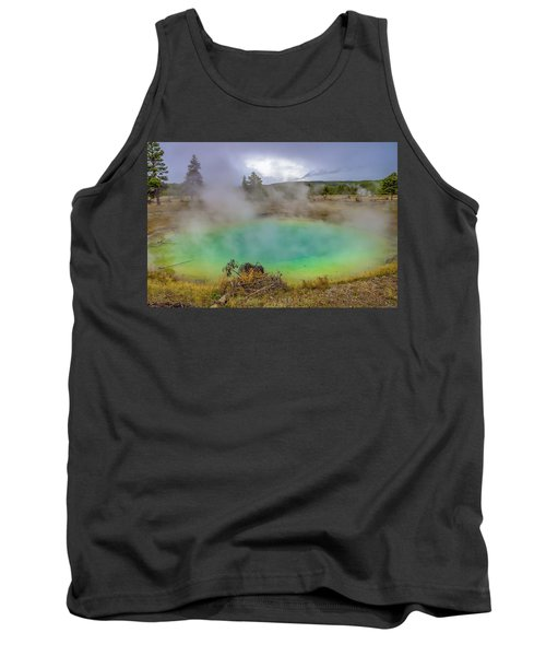 Opal Spring Yellowstone National Park Tank Top