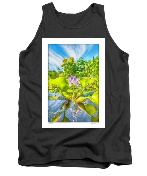 Tank Top featuring the photograph Open Arms by R Thomas Berner