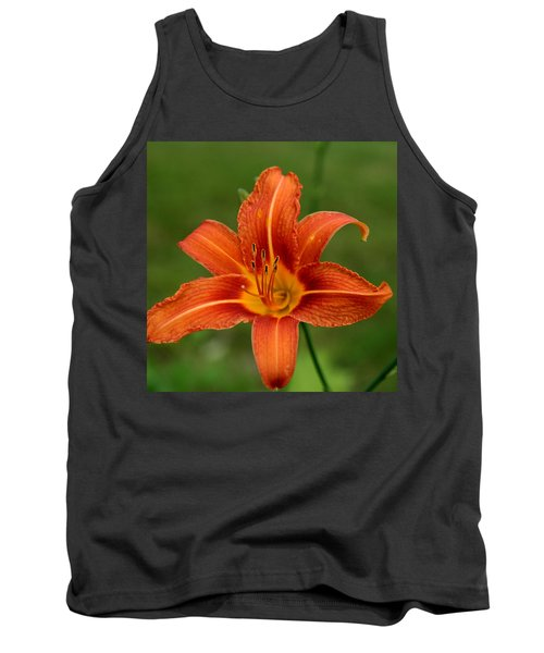 Orange Day Lily No.2 Tank Top