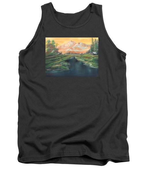 Orange Mountain Tank Top