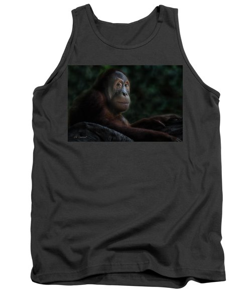 Orangutan Session Tank Top by CR  Courson