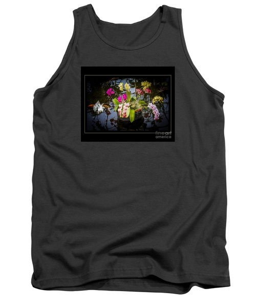 Orchid Island Tank Top by Darleen Stry