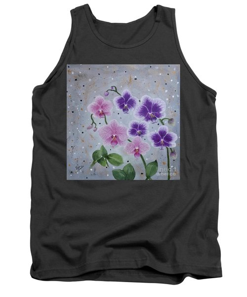 Orchids Galore Tank Top