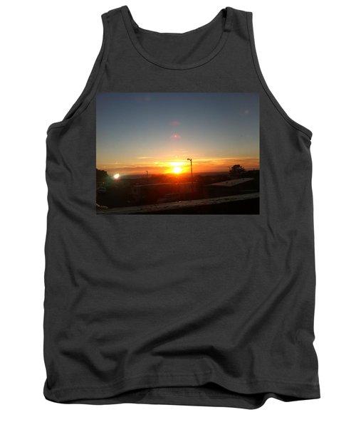 Oregon Blazing Sunset Tank Top