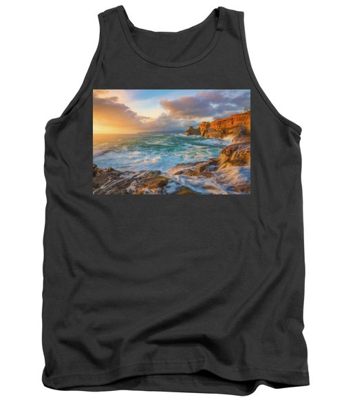 Tank Top featuring the photograph Oregon Coast Wonder by Darren White