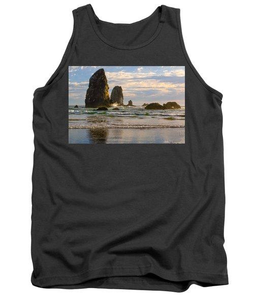 Oregon Sea Stacks Tank Top