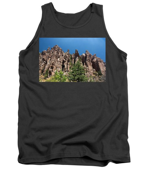Tank Top featuring the photograph Organ Pipes by Joe Kozlowski