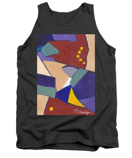 Organic Abstract Series IIi Tank Top by Patricia Cleasby