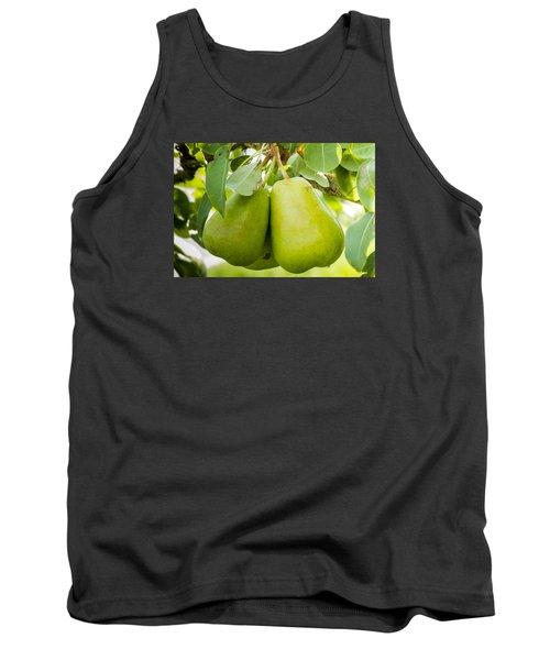 Organic Pears Tank Top by Teri Virbickis
