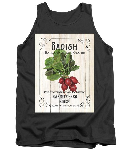 Tank Top featuring the painting Organic Seed Packet 3 by Debbie DeWitt