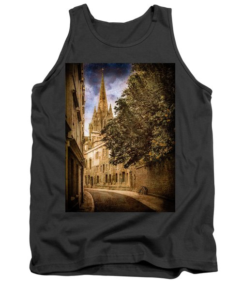 Oxford, England - Oriel Street Tank Top
