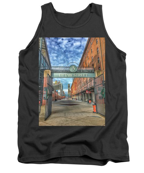 Oriole Park At Camden Yards - Eutaw Street Gate Tank Top