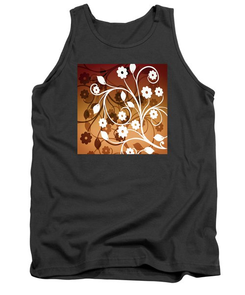Tank Top featuring the digital art Ornamental 2 Warm by Angelina Vick