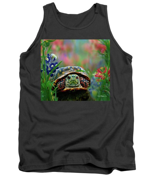 Ornate Box Turtle Tank Top