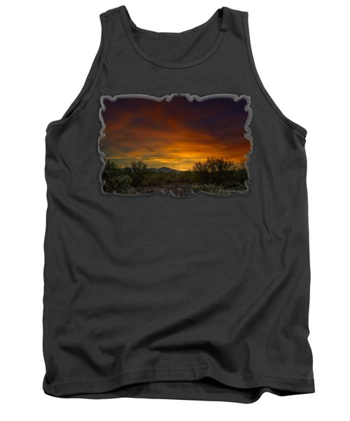 Oro Valley Sunset H02 Tank Top