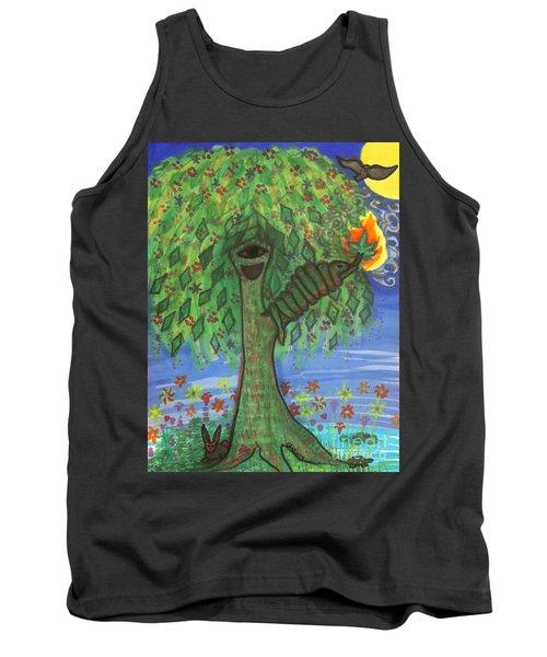 Osain Tree Tank Top