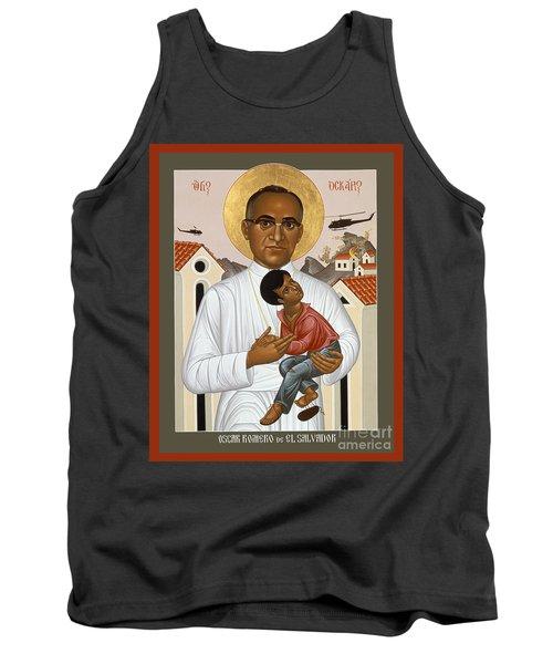 St. Oscar Romero Of El Salvado - Rlosr Tank Top